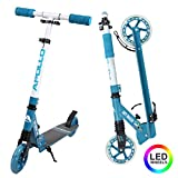 Apollo Scooter LED - Skyracer mit Led Wheels 145mm...